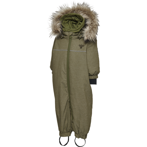 HMLPLAY SNOW SUIT, BURNT OLIVE , packshot