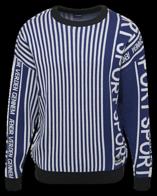 hmlBREEZE KNIT , MAZARINE BLUE, packshot