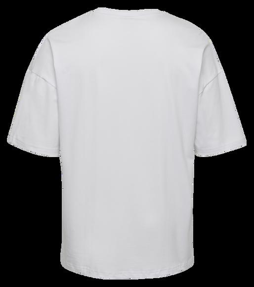hmlINSIDE REEF LOOSE T-SHIRT S/S, WHITE, packshot