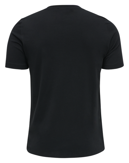 hmlISAM T-SHIRT, BLACK, packshot