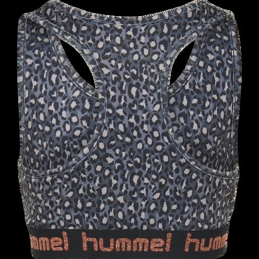 hmlMIMMI SPORTS TOP, BLACK/GREY, packshot
