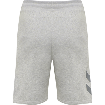 hmlLEGACY SHORTS, GREY MELANGE, packshot