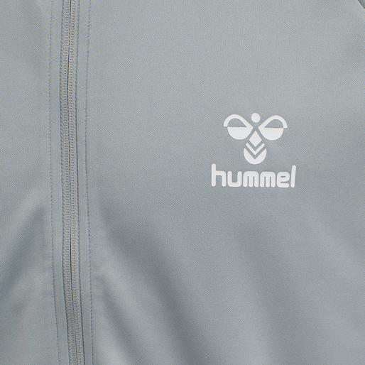 hmlARNE ZIP JACKET, QUARRY, packshot