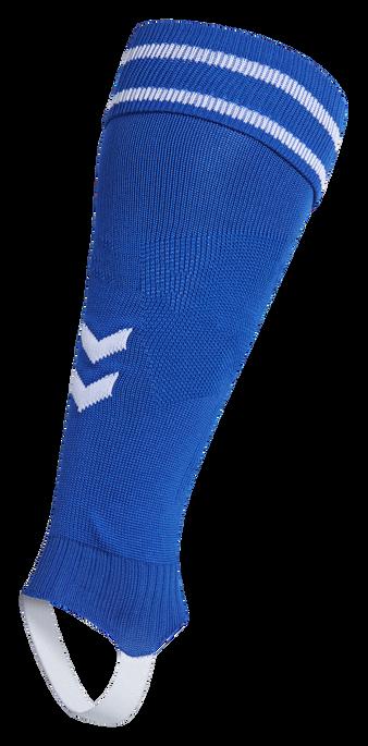 ELEMENT FOOTBALL SOCK FOOTLESS, TRUE BLUE/WHITE, packshot