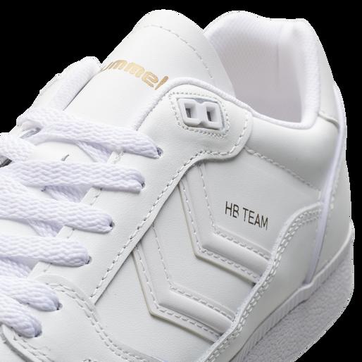 HB TEAM LEATHER, WHITE, packshot