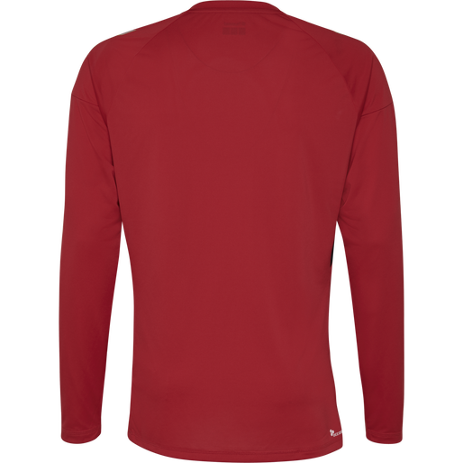 TECH MOVE KIDS JERSEY L/S, TRUE RED, packshot