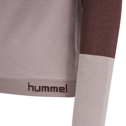 hmlKITH SEAMLESS T-SHIRT L/S, DEAUVILLE MAUVE, packshot