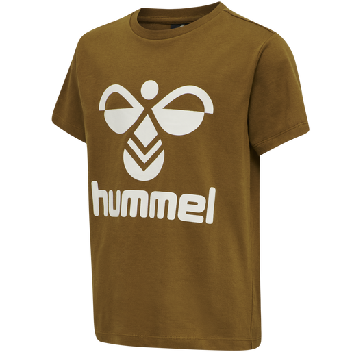 hmlTRES TEE SHIRT S/S, RUBBER, packshot