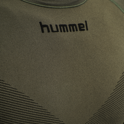 HUMMEL FIRST SEAMLESS JERSEY L/S , GRAPE LEAF, packshot
