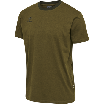 hmlMOVE KIDS T-SHIRT, DARK OLIVE, packshot