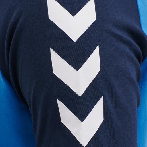 hmlMARK T-SHIRT S/S, BLUE ASTER, packshot