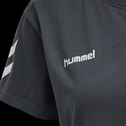 HUMMEL GO COTTON T-SHIRT WOMAN S/S, INDIA INK, packshot
