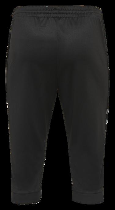 hmlAUTHENTIC KIDS 3/4 PANT, BLACK/WHITE, packshot