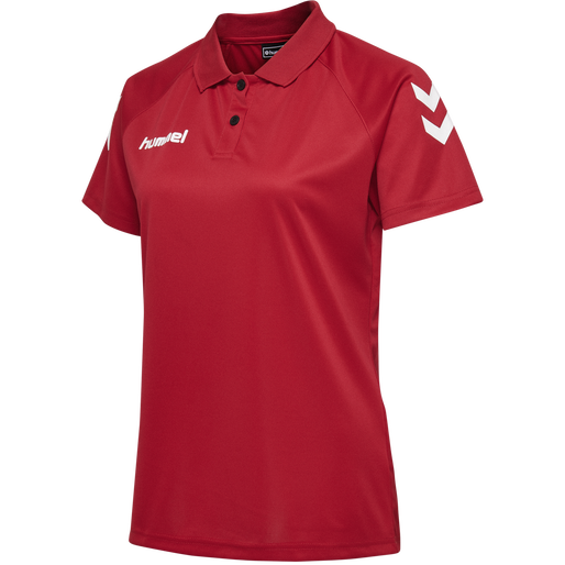 CORE FUNCTIONAL POLO WOMAN, TRUE RED, packshot