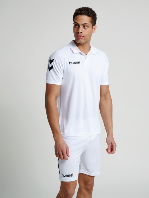 CORE FUNCTIONAL POLO, WHITE, model