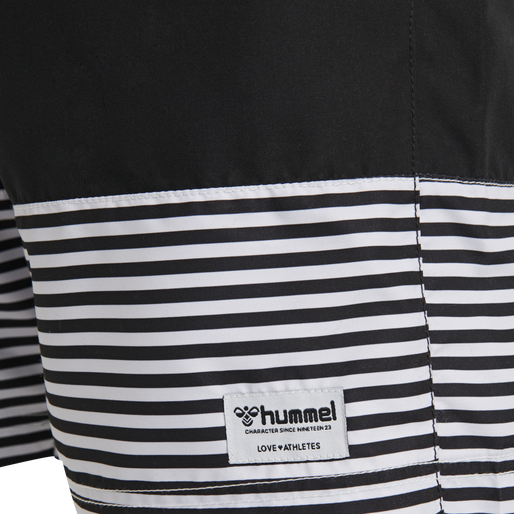hmlCHASE BOARD SHORTS, BLACK, packshot