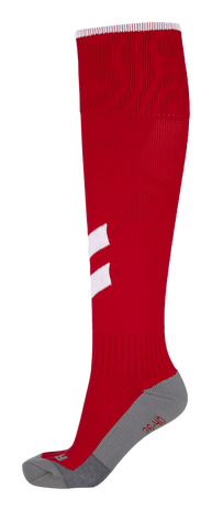 FUNDAMENTAL FOOTBALL SOCK, TRUE RED/WHITE, packshot