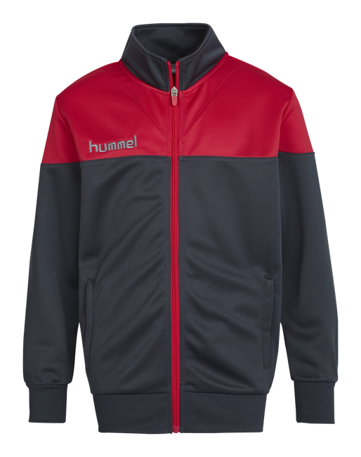 HUMMEL SIRIUS POLY JACKET, DARK SLATE/VIRTUAL PINK, packshot