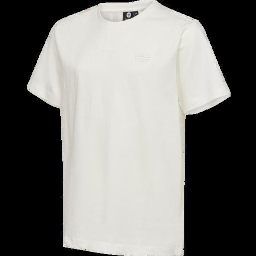 hmlUNI T-SHIRT S/S, WHISPER WHITE, packshot