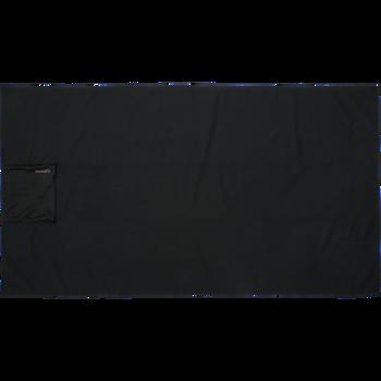 hmlPRO XK TOWEL, CAVIAR/MARSHMALLOW, packshot