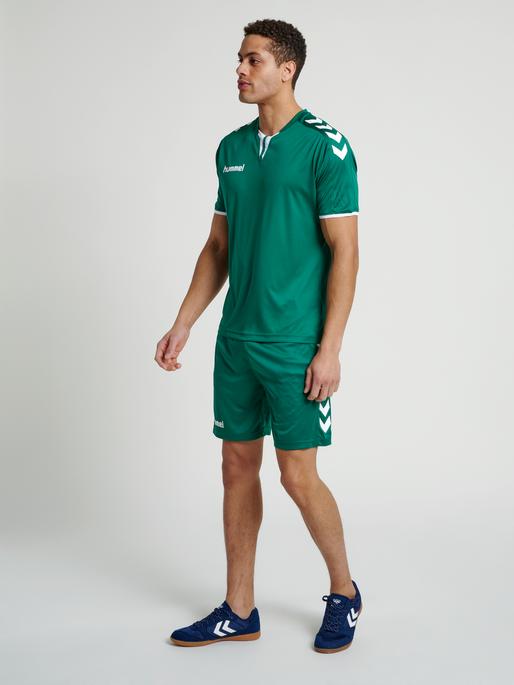 Hummel Herren-Trikot Core Ss Poly Jersey 003636 Fußball Handball Volleyball