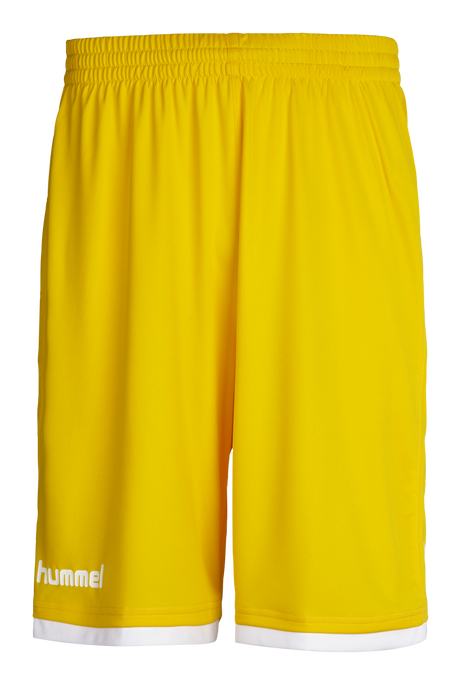 CORE BASKET SHORTS, SPORTS YELLOW, packshot